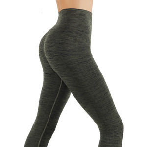 Pants - Army green Yoga leggings full length